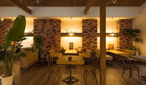茨城県境町の洋食レストラン:Café&Dining GOODDAY店内