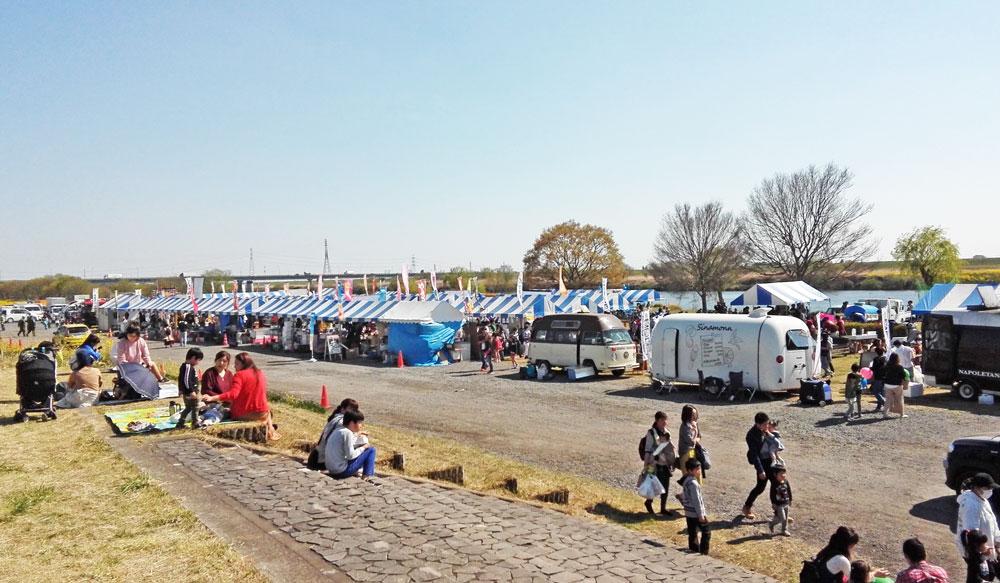 茨城県境町さかい河岸フェスティバル:屋台