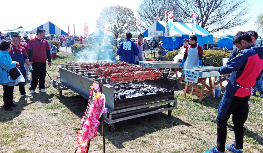 茨城県境町さかい河岸フェスティバル:食べ物