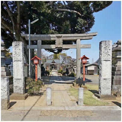 歴史・文化:香取神社